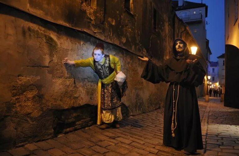 Прогулка с привидениями в Праге