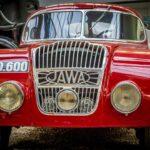 Парад ретро-автомобилей в Праге