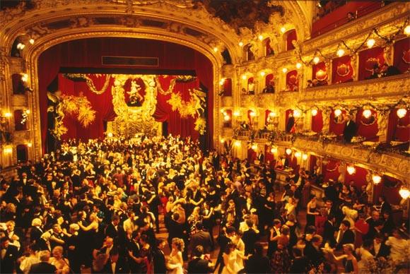 Бал в пражской опере