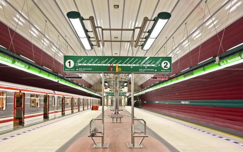 Станция метро Borislavka Прага