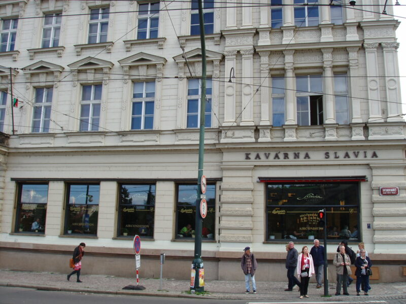 Прага Кафе Славия