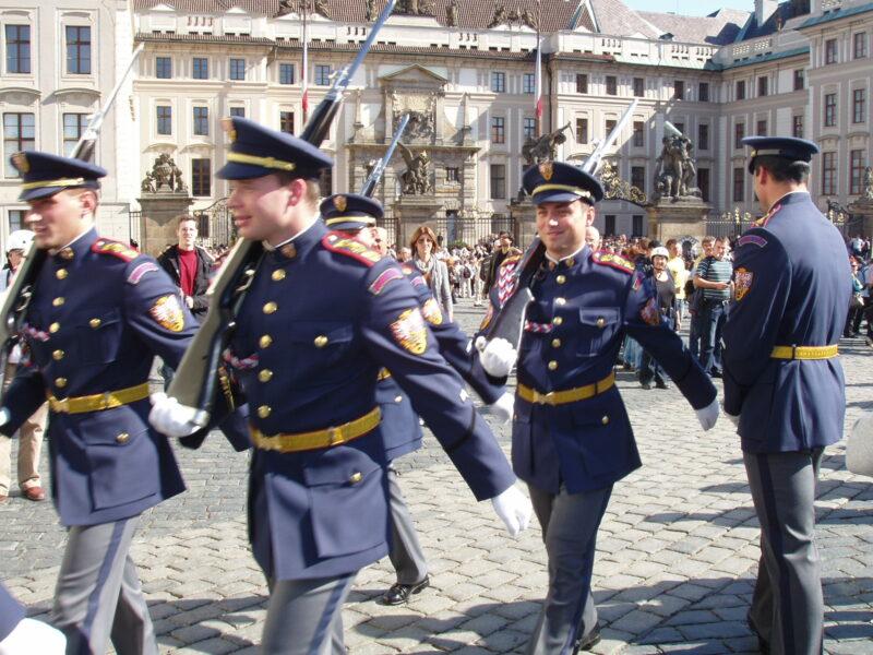 Гвардейцы Пражского града