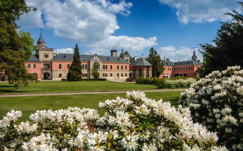 чешский замок Сихров