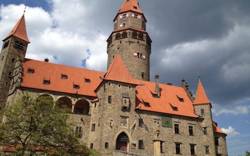 Замок Боузов Чехия