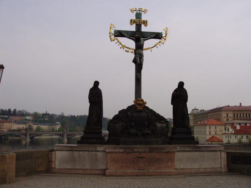 Статуя Распятия на Карловом мосту