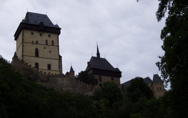 Башни_замка-Карлштейн