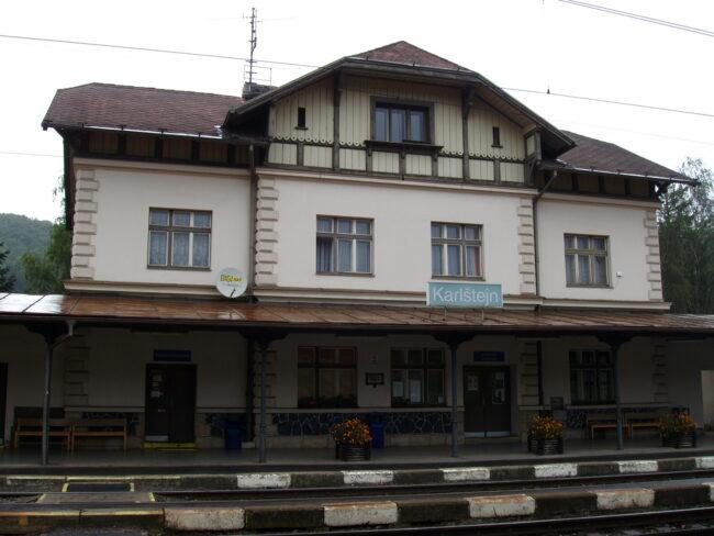 ЖД_Станция_Карлштейн