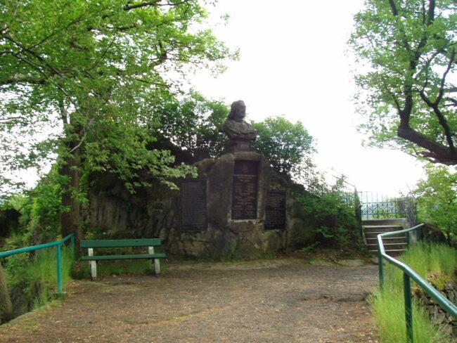 Памятник Петру Великому Карловы Вары