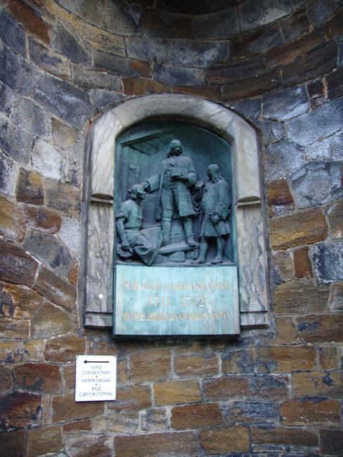 Петр Великий в Карловых Варах