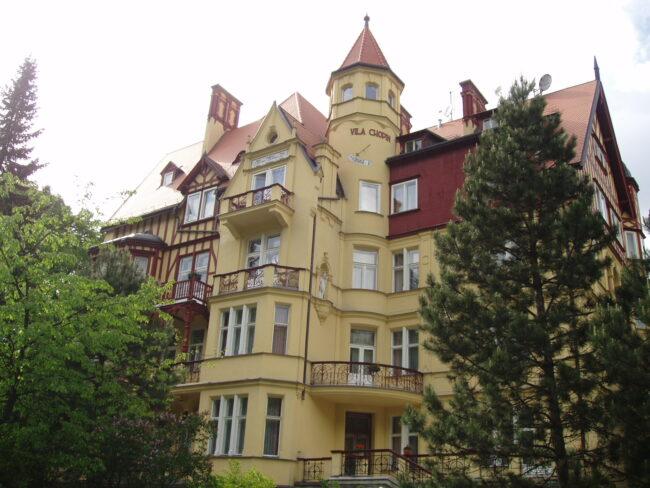Отель Вилла Шопен в Карловых Варах
