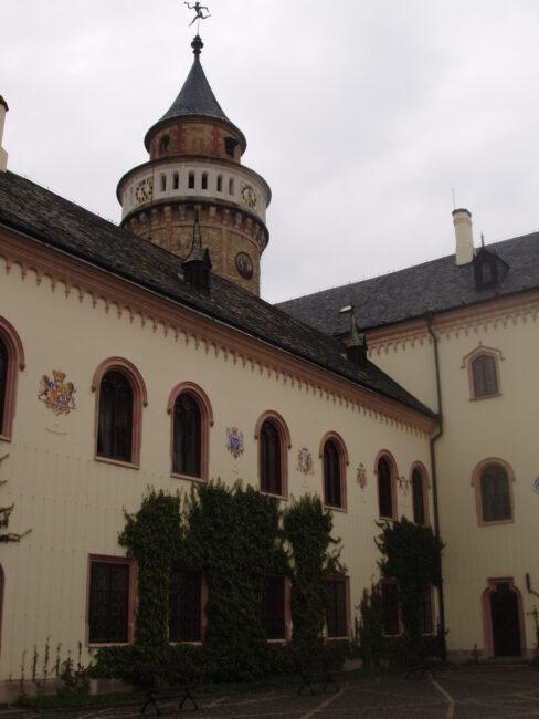Башня замка Сихров
