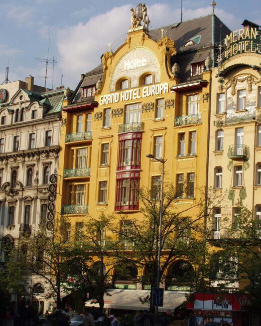 Отель Европа Вацлавская площадь Прага