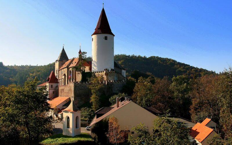 Замок Крживоклат Чехия